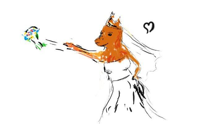 Рисунки волчицы