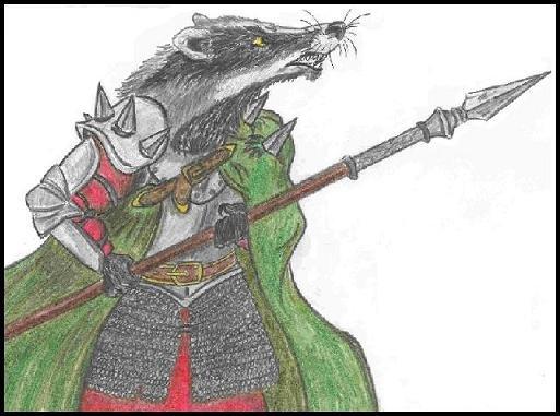 Барсук-воитель