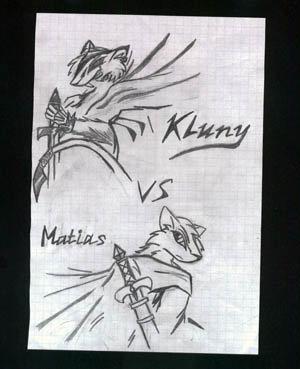 Клуни и Матиас