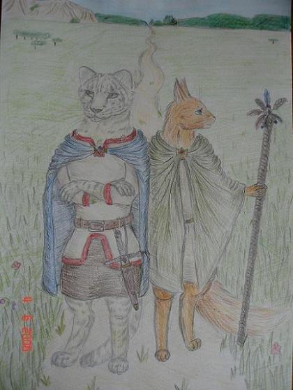 Колумбина и Агнесса
