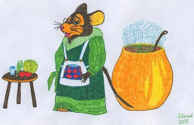 Мышь-монах