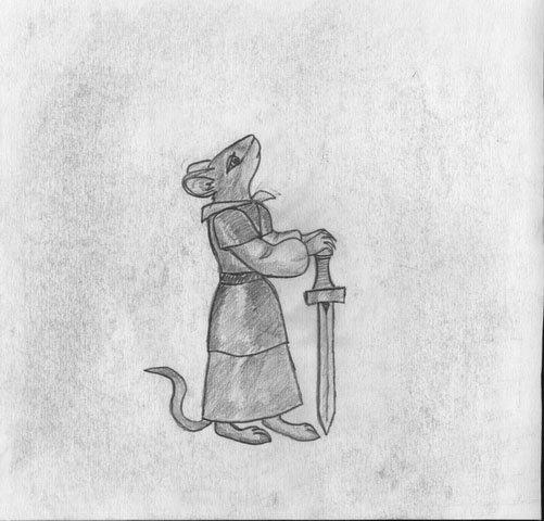 Мышь Воительница