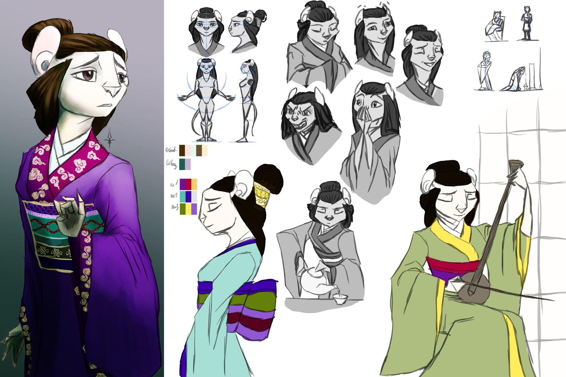 Карточка персонажа - Сима Хасима (Екуозу)