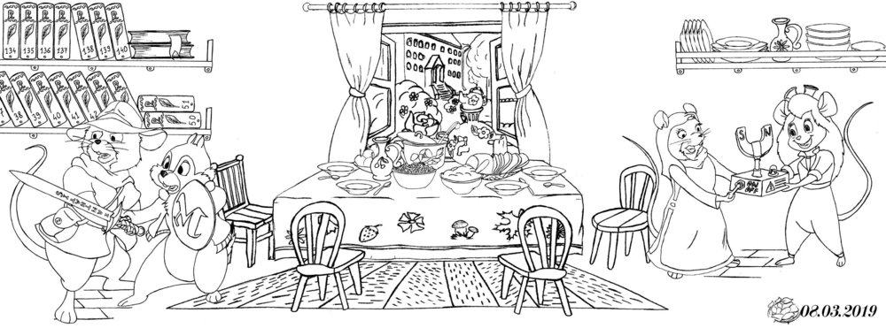 Рисунки Шиповника