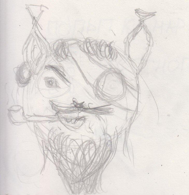 Белка-пират