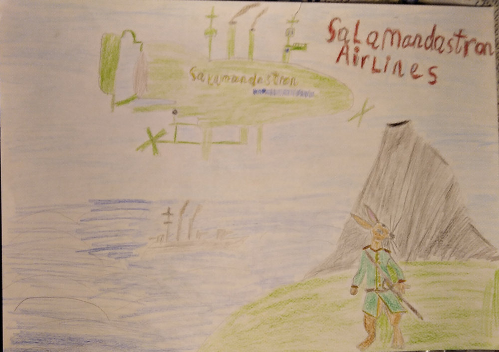Salamandastron Airlines
